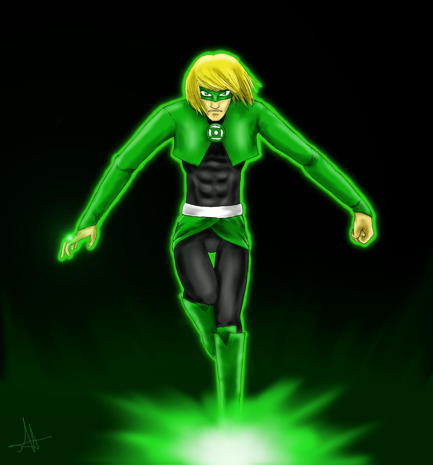 Green Lantern Armin by Angelia-Dark