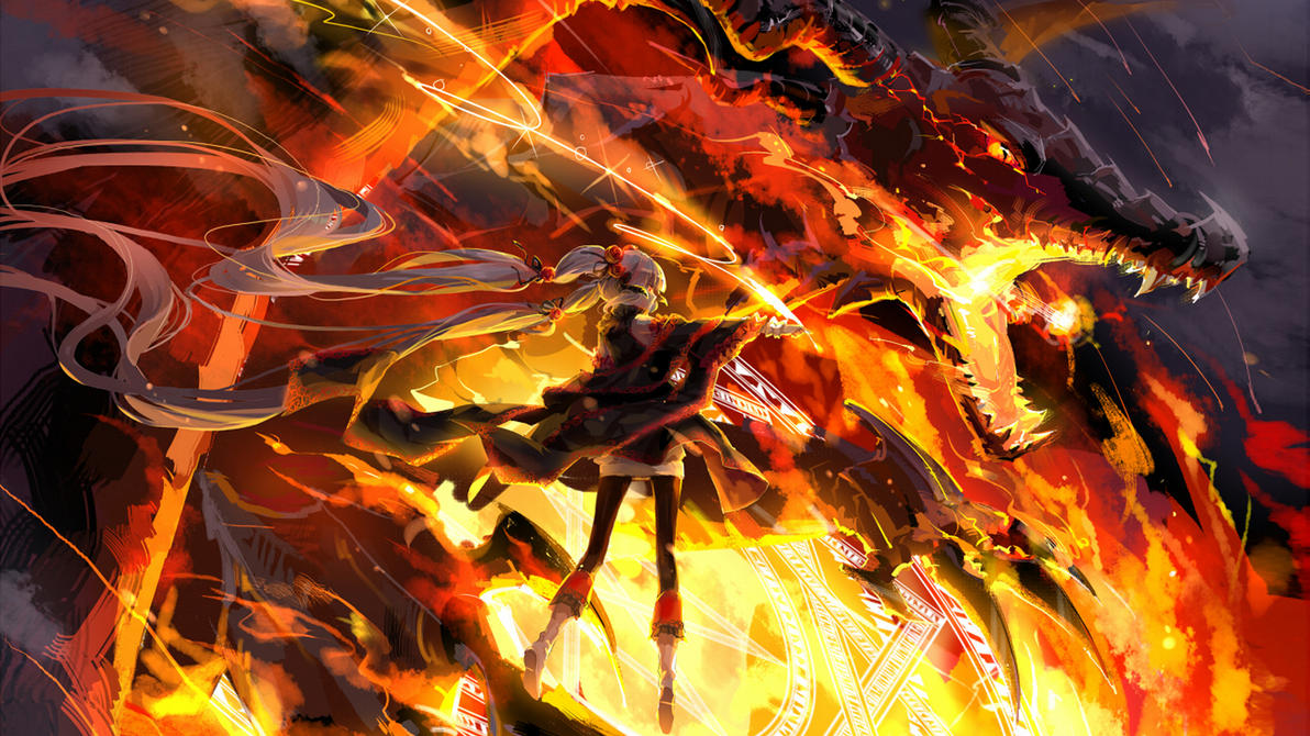 13771 1 other anime dragon fire fire dragon by diogozx