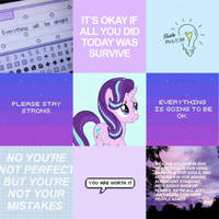 Positive Starlight moodboard by BubaIuv
