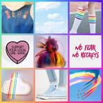 Human!Rainbow Dash Moodboard