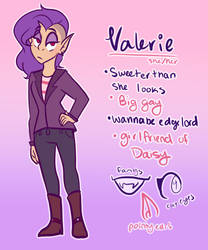 Valerie's new ref!