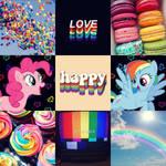 PinkieDash Moodboard