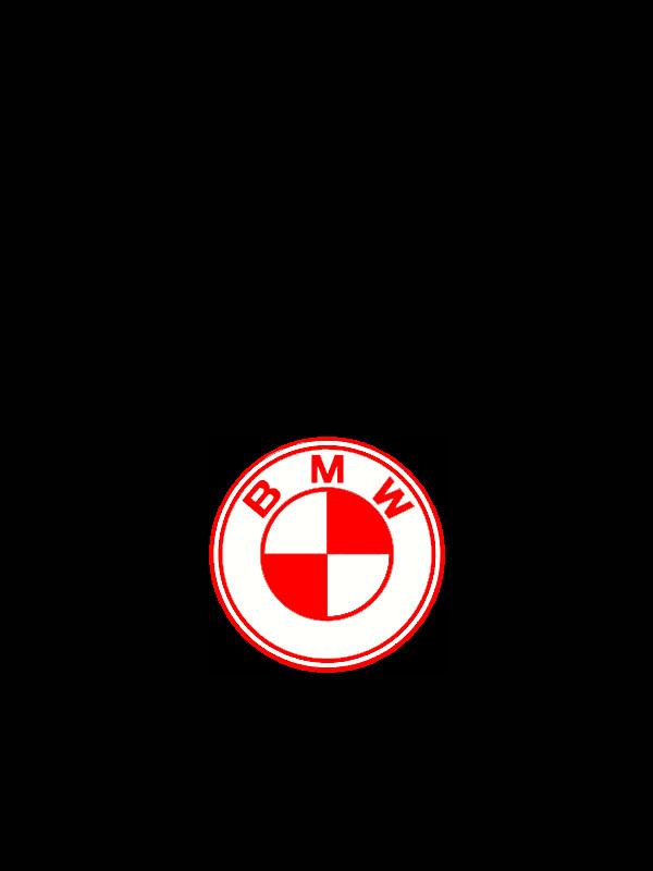 Bmw Red White Logo By Tito335 On Deviantart
