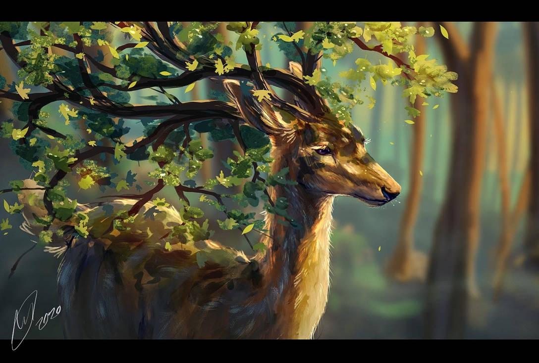 Философия в картинках - Страница 23 Nature_deer_by_minjuart_deeq9ai-pre.jpg?token=eyJ0eXAiOiJKV1QiLCJhbGciOiJIUzI1NiJ9.eyJzdWIiOiJ1cm46YXBwOiIsImlzcyI6InVybjphcHA6Iiwib2JqIjpbW3siaGVpZ2h0IjoiPD04NjQiLCJwYXRoIjoiXC9mXC9iNDA1NjIwNC00NGE5LTRmYzgtODc0NS01ZWQ4YzMwNWViMjRcL2RlZXE5YWktNTkxZDNlYTUtYTkwMi00N2EwLThjMjUtYmFjZmZmNjE5ZTZiLmpwZyIsIndpZHRoIjoiPD0xMjgwIn1dXSwiYXVkIjpbInVybjpzZXJ2aWNlOmltYWdlLm9wZXJhdGlvbnMiXX0