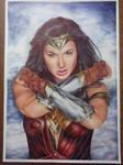 Wonder Woman [Color Ballpoint Pens]