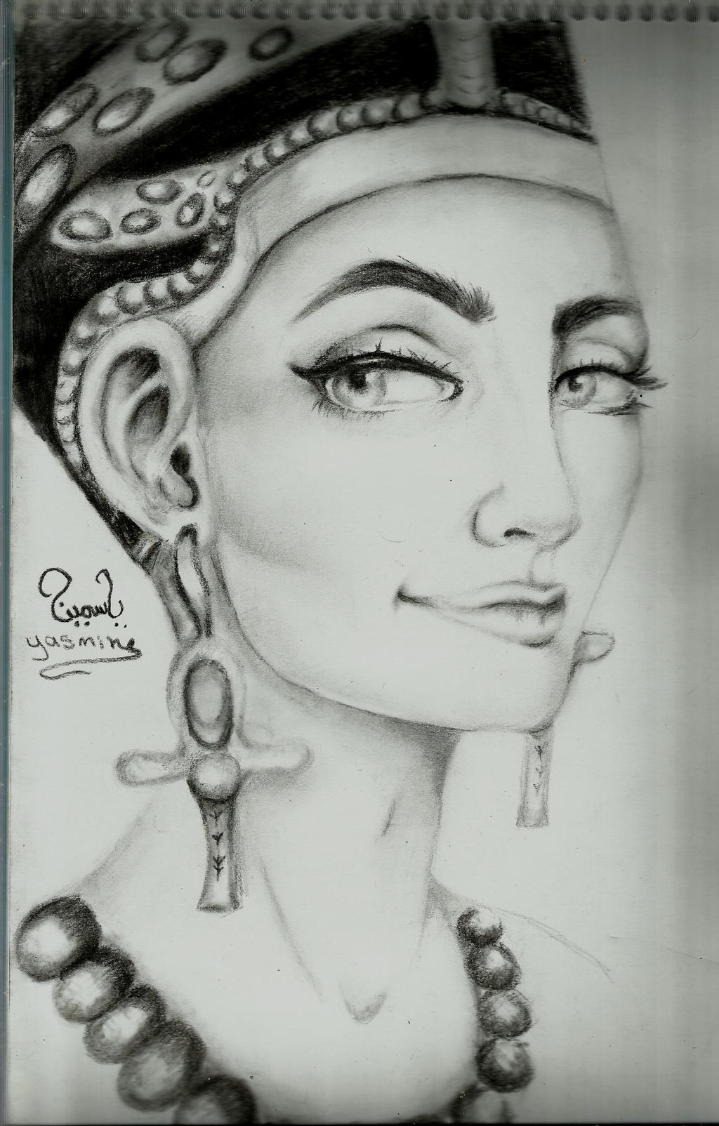 egyptian queen drawing - photo #20