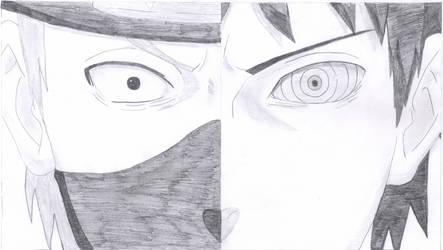 Kakashi/Obito Sketch