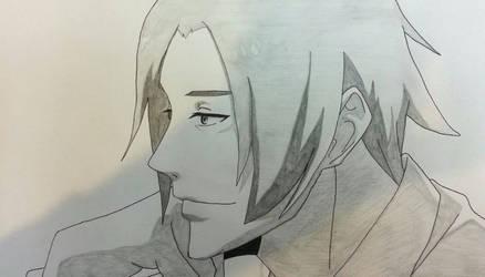 Tsukiyama Shuu Sketch