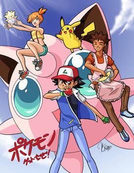 Aim to Be a Pokemon Master