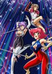 Super Heroine Team!