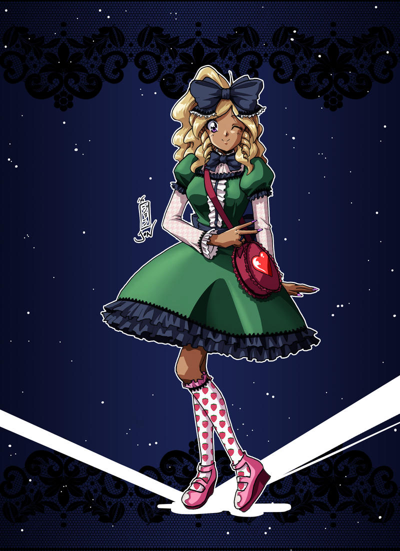 Draw Fridays - Week 9: Gothic Lolita by Kurumi-Lover