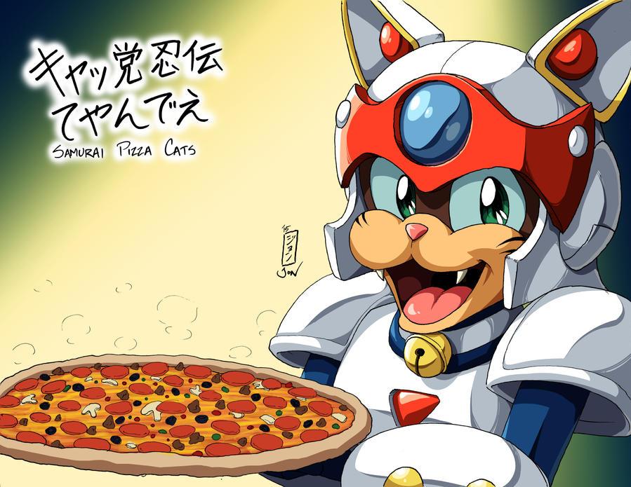 Draw Fridays - Week 8: Pizza by Kurumi-Lover