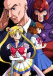 Commission: Sailor Moon X - Lunar Eclipse