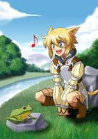 Makin' a New Friend by Kurumi-Lover