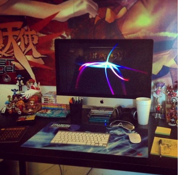Desk1 by Kurumi-Lover