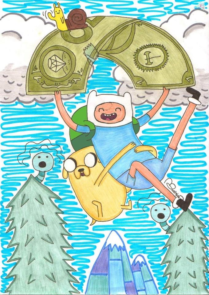 Hora de aventura! by Morbybiggestfan