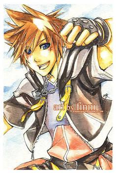 KH2: Sora watercolor