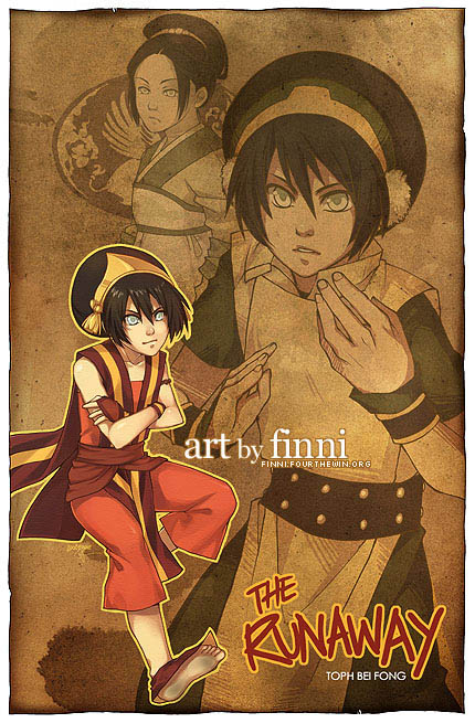 Avatar:  The Runaway by finni