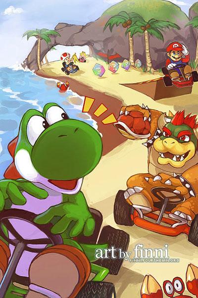 Mario Kart 64 By Finni On DeviantArt