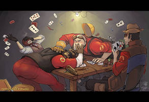 TF2: Poker Night by finni