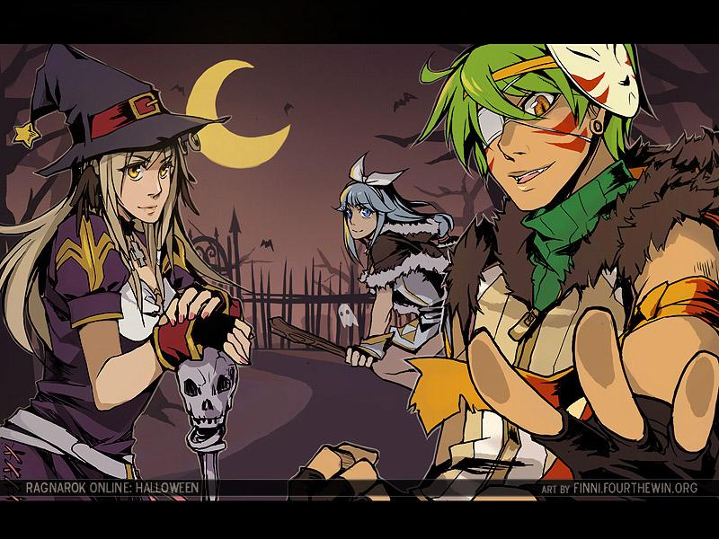 Ragnarok: Halloween by finni