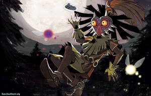 Majora's Mask by finni