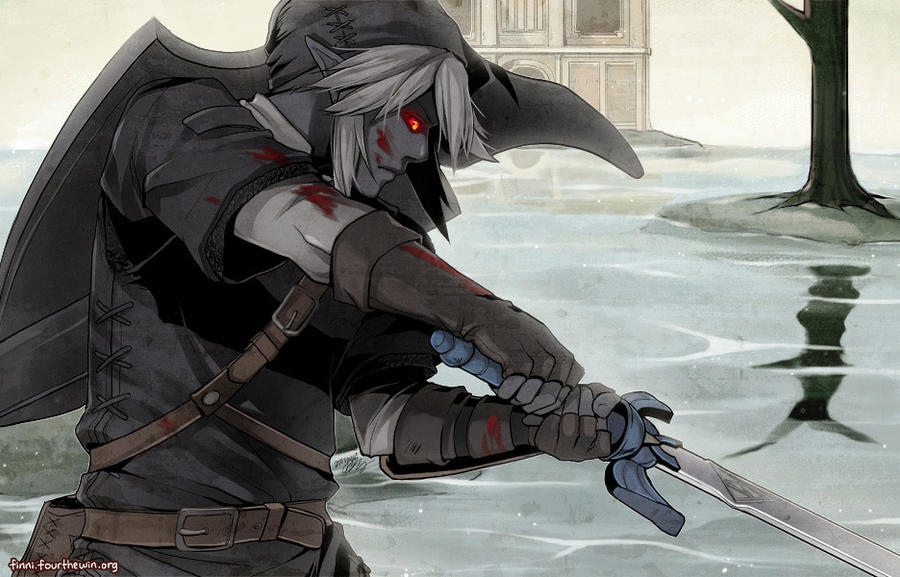 Legend of Zelda: Dark Link by finni