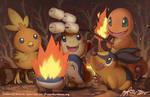 PKMN: Fire Starters