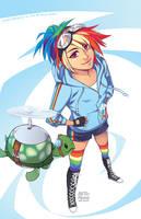 MLP: Rainbow Dash by finni