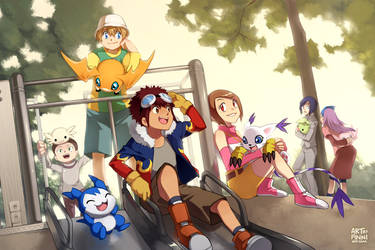 Digimon Adventure 02! by finni