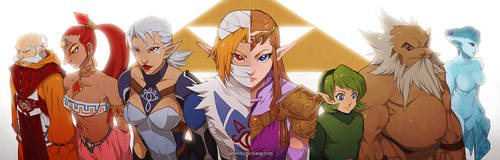 The Seven Sages -- Ocarina of Time