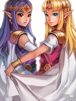LoZ: Princess Duet by finni