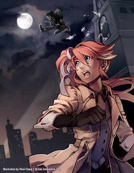 Gaia Online: Rookie Detective and Striking Thief
