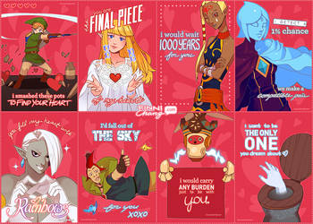 Happy Zelda Valentines' Day~ by finni