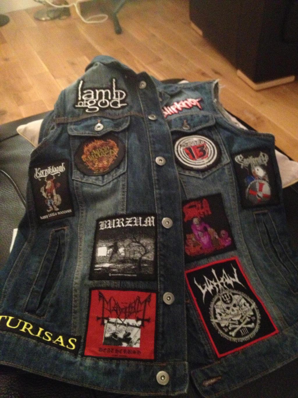 Denim jacket Art Harley Quinn from Suicide Squad jean
