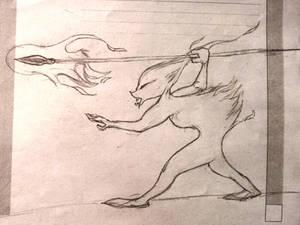 Lomerian Fire-spirit