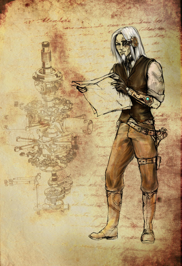 Steampunk sketch by lucife56 on deviantart for What is steampunk design