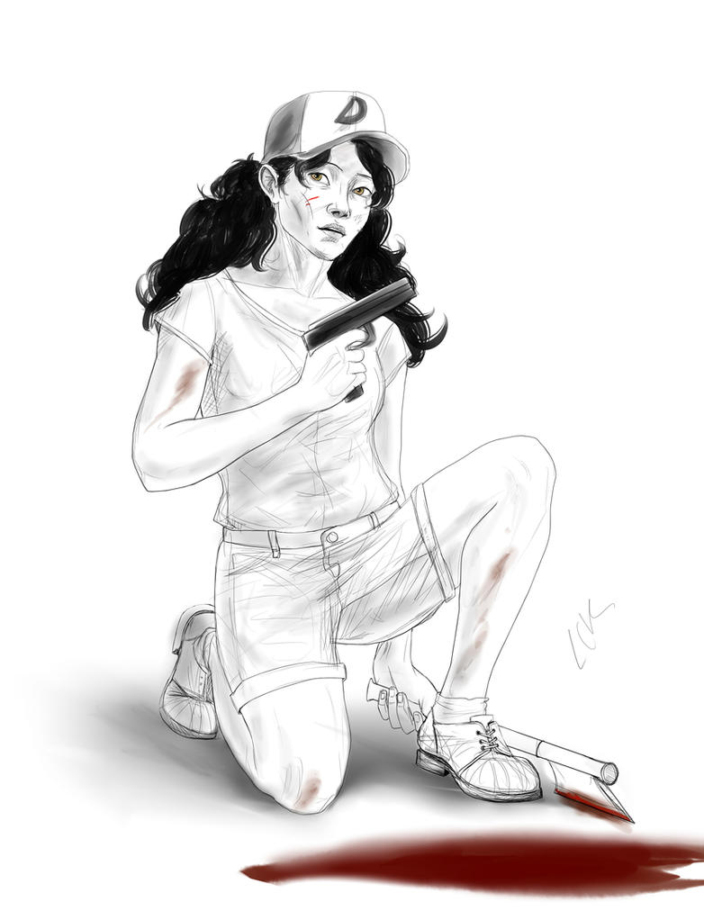 Clementine sketch by lucife56
