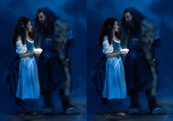 As hobbit or dwarrow dam by lucife56