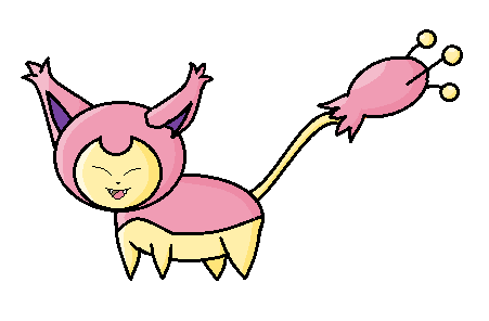 Skitty by angelkit22