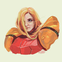 samus aran - metroid  by gvaat
