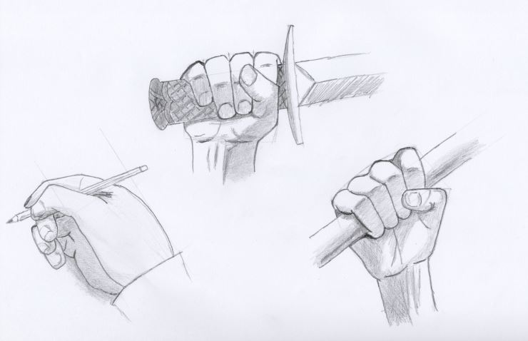 Hands holding something by oswin-drawings on DeviantArt