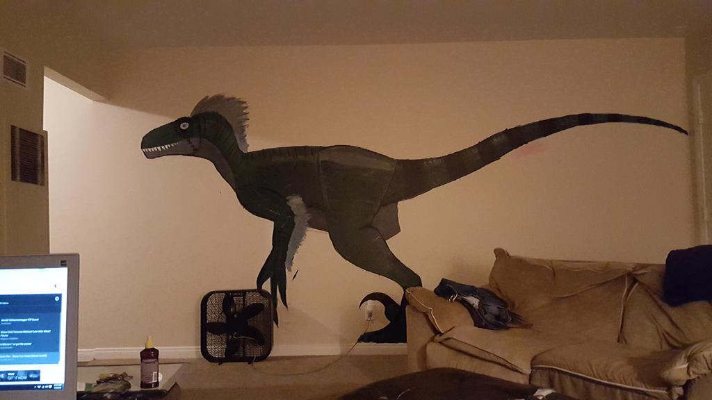 Utahraptor  by 1COMMANDO