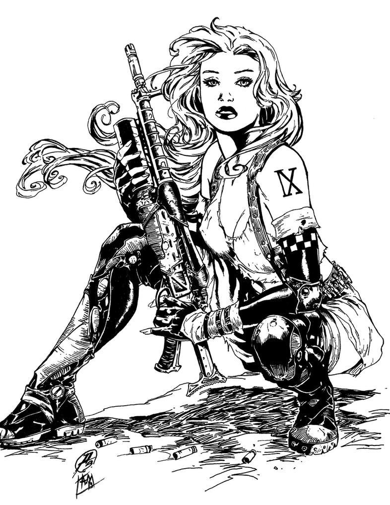 Aphrodite IX Inks by SupermanOfToday