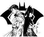 Superman/Batman (Brett Booth Inks)