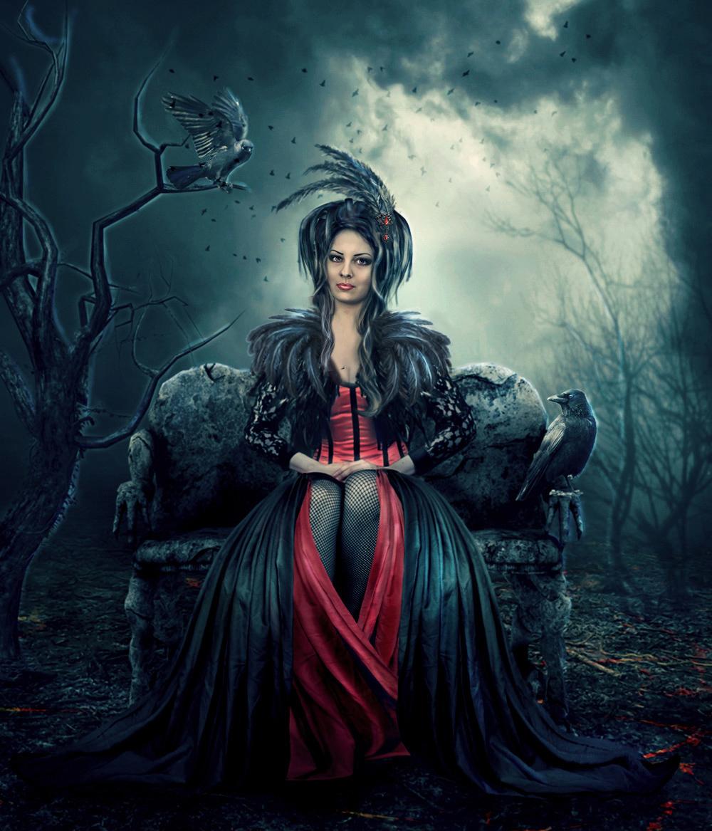 Dark Queen by Lotta-Lotos