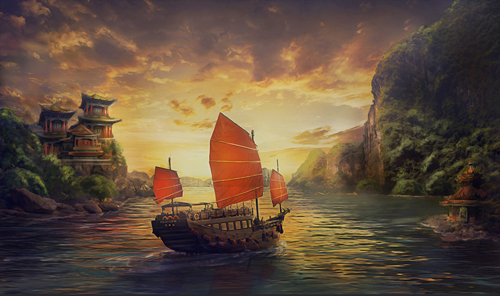 In the long journey by Lotta-Lotos