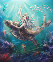 Mermaid by Lotta-Lotos