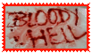 Bloody Hell STAMP by MINECR-AFT