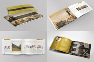 Exclusive Horizontal Brochure by Mikingers